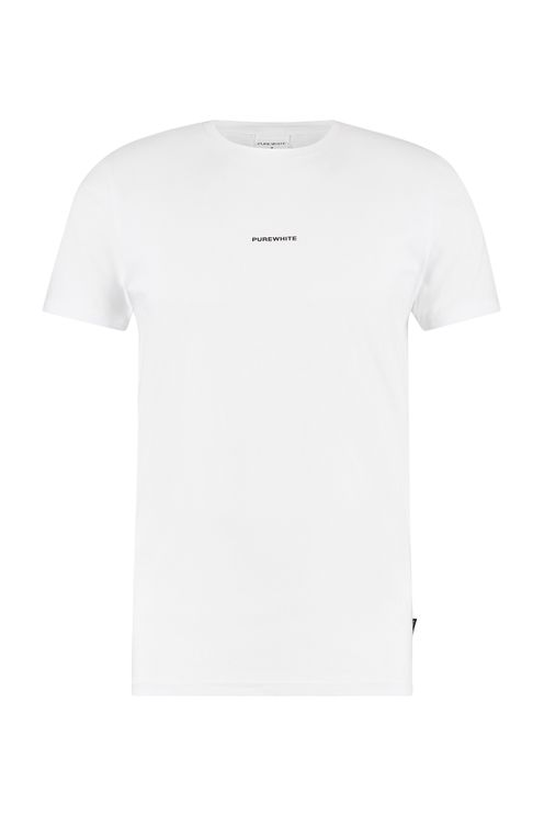 Snake Print T-shirt - White