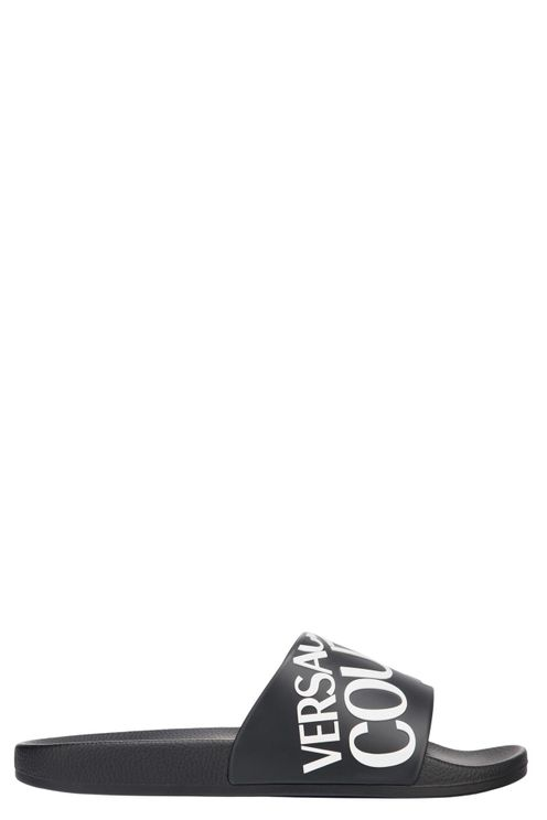 Logo slippers Zwart
