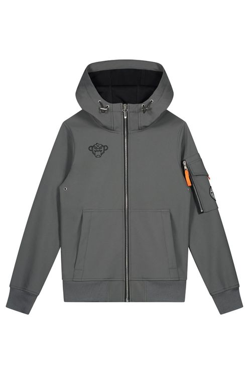 Black Bananas Softshell Jacket Kids Grey