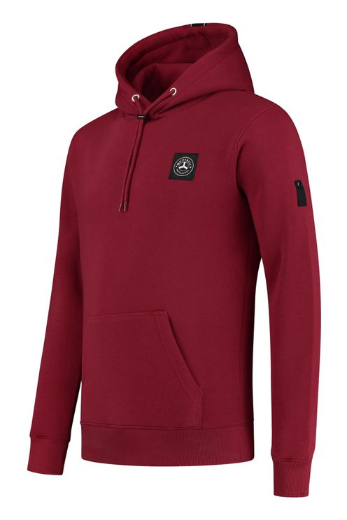 Quotrell Commodore Hoodie Bordeaux