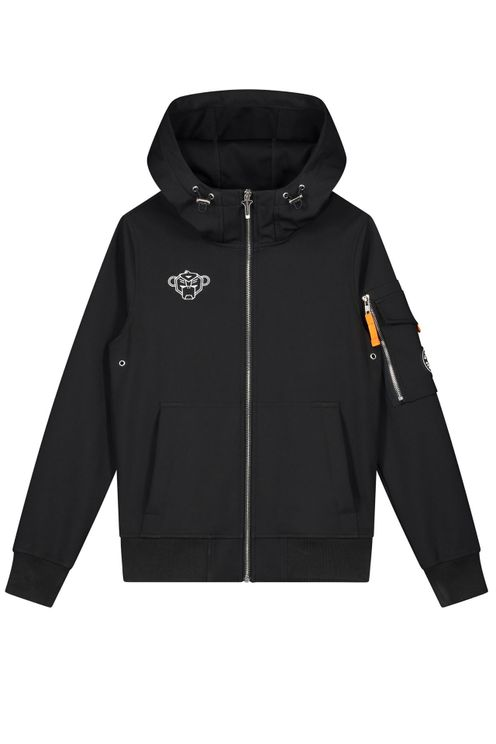 Black Bananas Softshell Jacket Kids Black