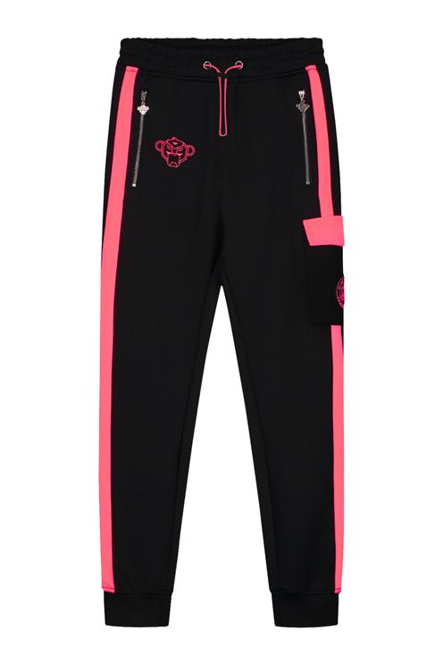 Jr Anorak Match Trackpants Black