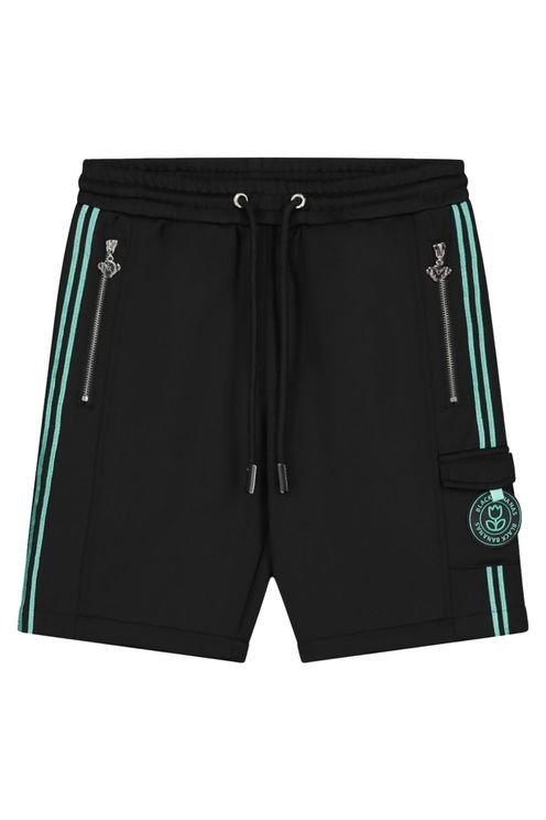 Jr Unity Short Black/Aqua
