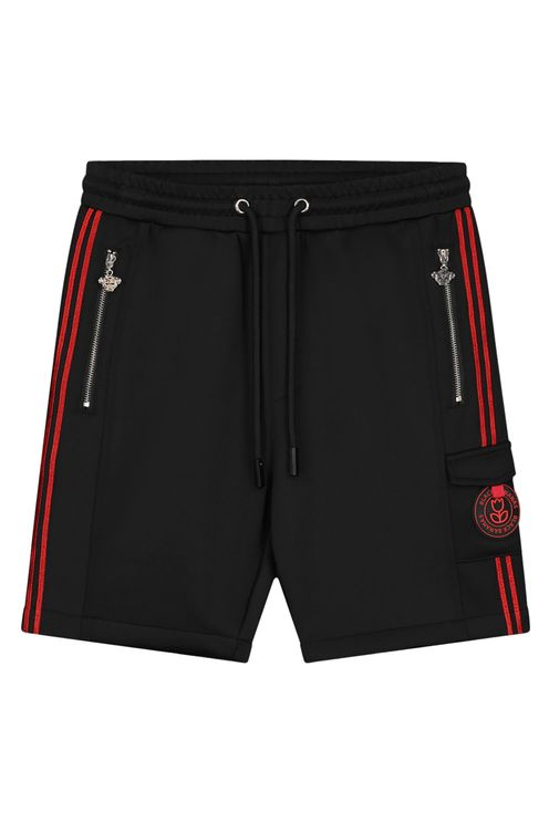 Jr Unity Short Black/Red