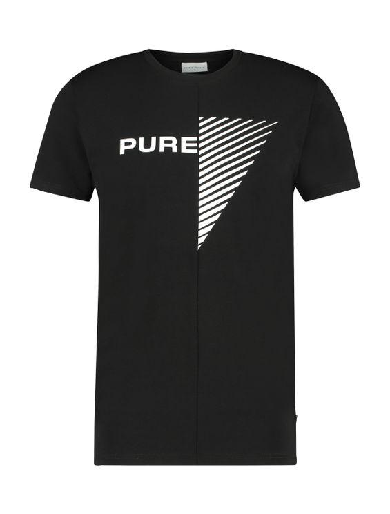 Duality Of Men T-shirt - Black