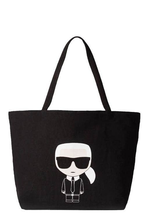 K/ikonik Black Shopping Bag Black