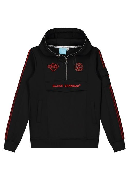 Jr Unity Tracktop Black/Red