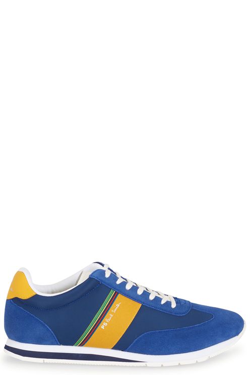 Sneakers blu yellow runners
