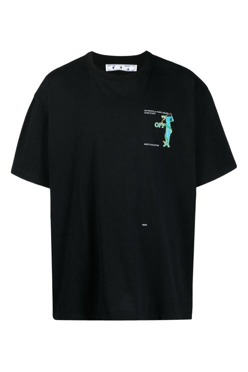 Off White T-shirts and Polos Black