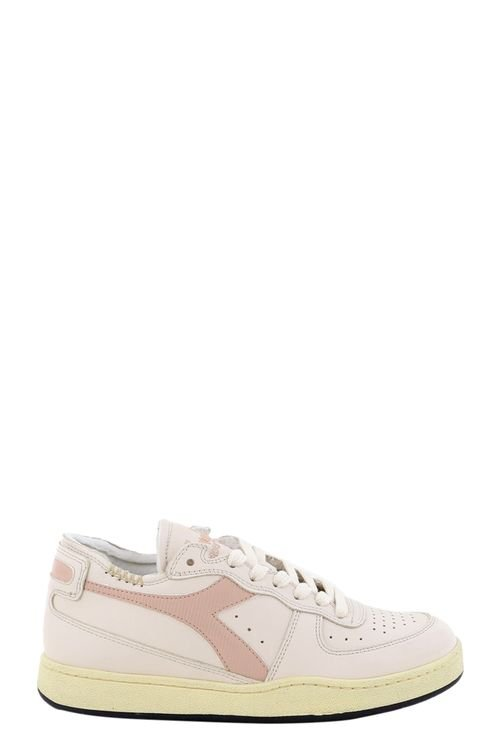 Sneakers Mi Basket Row Cut . Roze
