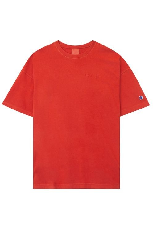 Crewneck Tee Washed Red