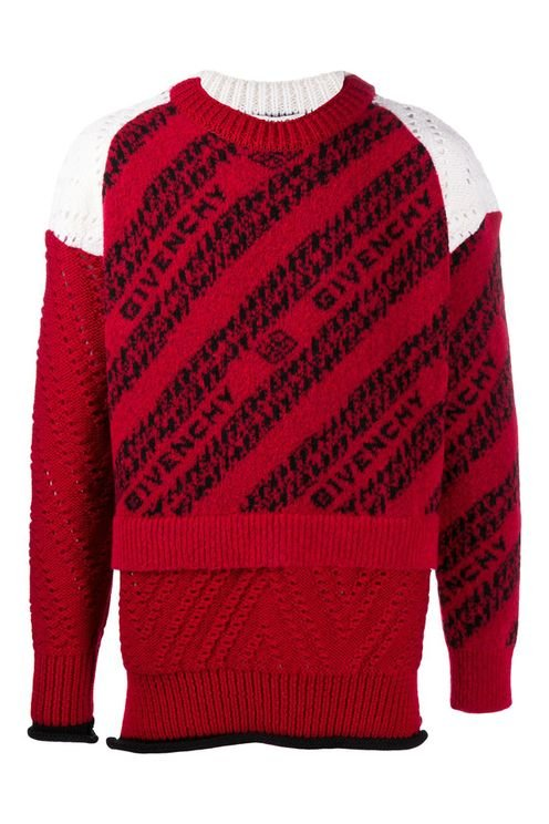 Givenchy Sweaters Red