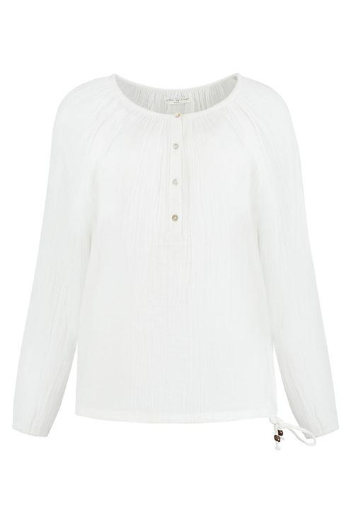 Stella blouse, cloud white