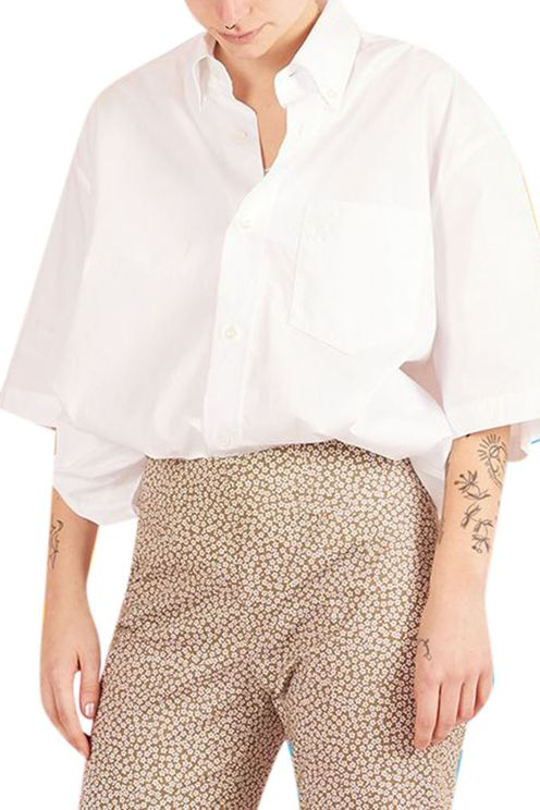 White Shirt Short Sleeves