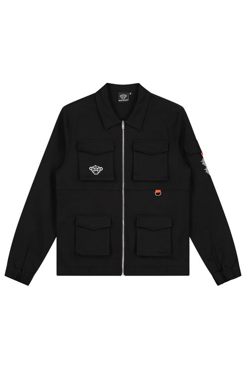California Cargo Jacket Black