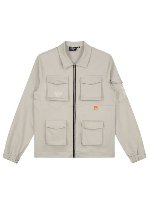California Cargo Jacket Sand