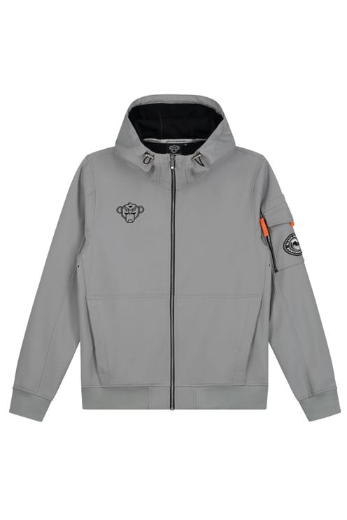 Black Bananas Seatle Softshell Jacket Grey