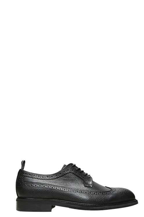 Leather Tim Brogue Black