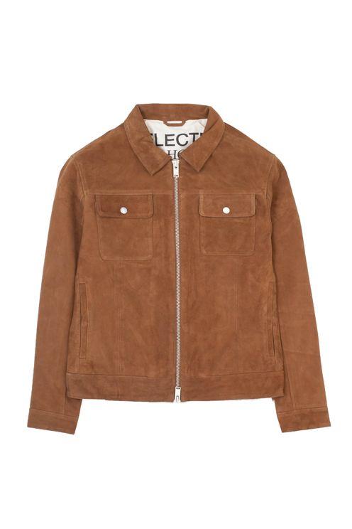 Blouson Suede Jacket