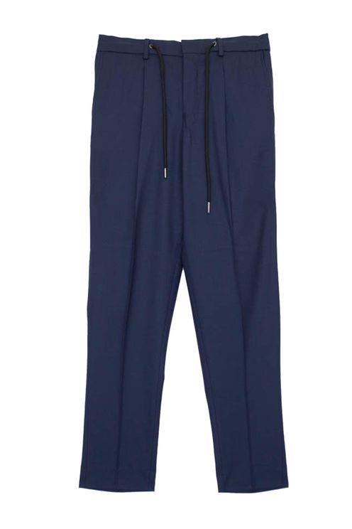 Jax Crop Pant Navy
