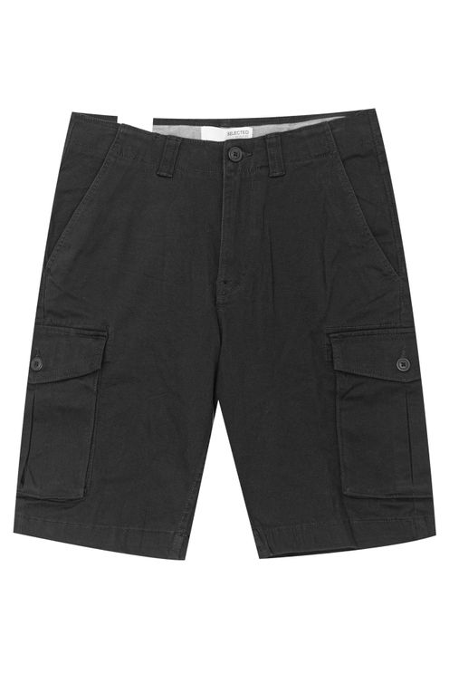 Aiden Cargo Short Black