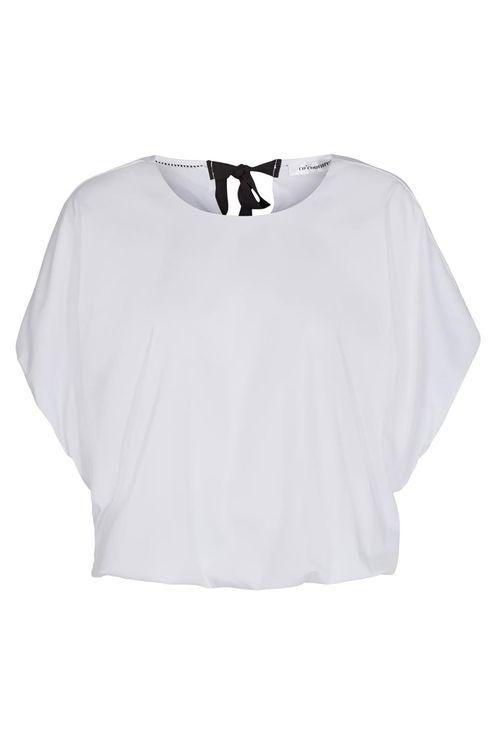 Hannah balloon blouse, white