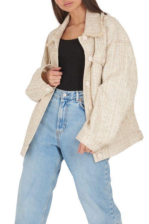 Jacket oles tasea tweed