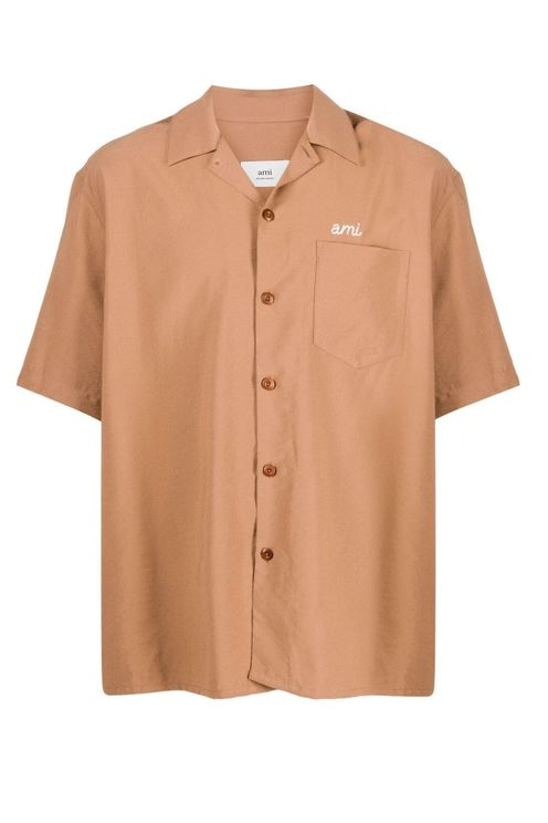 Ami Paris Shirts Beige