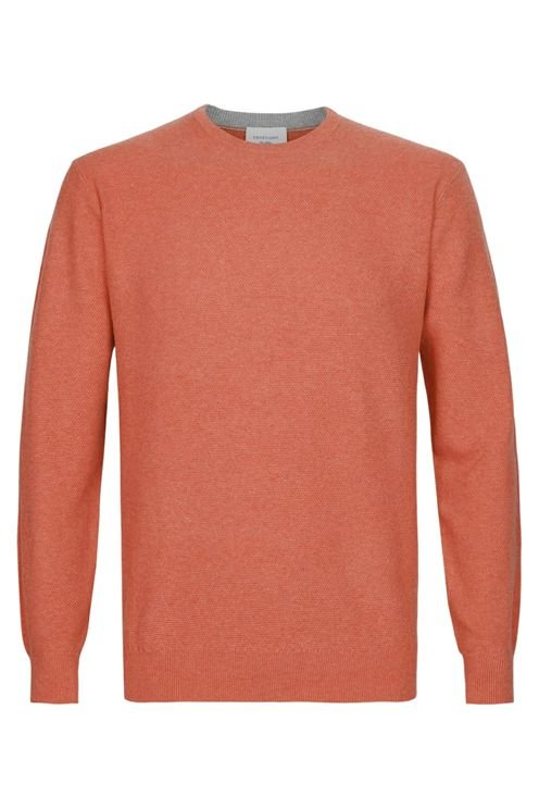 Terracotta Crewneck Sweater Roest Roze