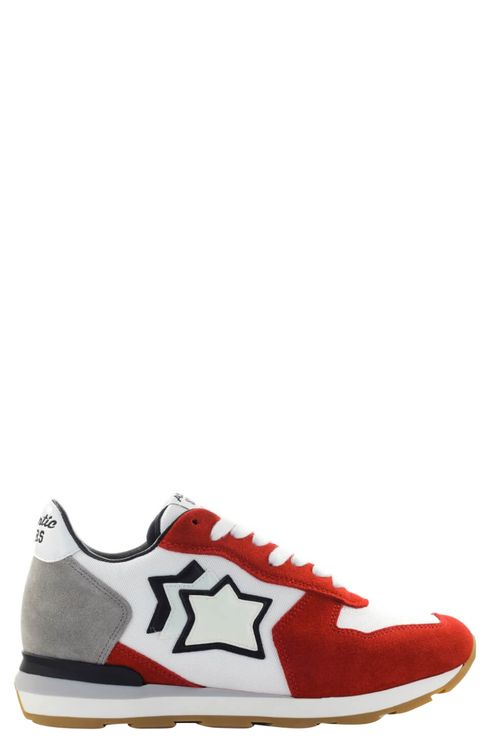 Antares White Red Sneaker Red