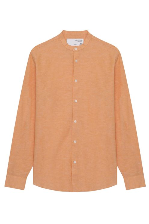 Regnew Linen Shirt Orange