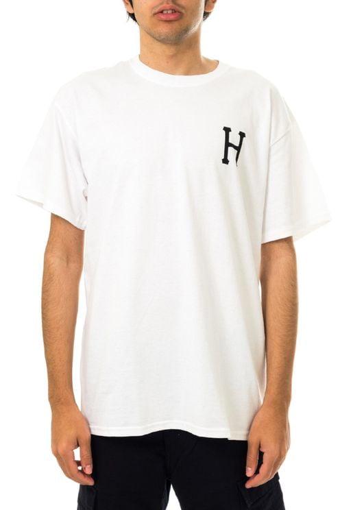 T-shirt Uomo Huf Essentials Classic H S/s Tee Ts01048.wht