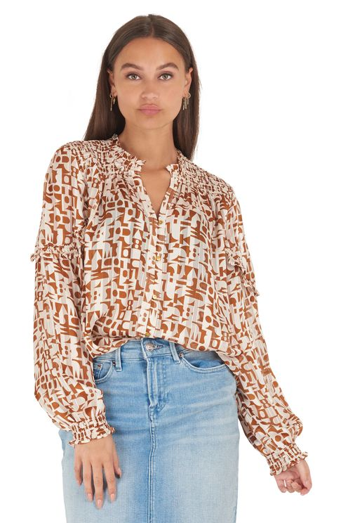Sheer shirt all over
