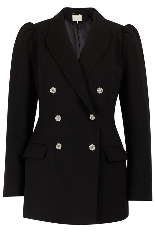 Silky Blazer Black