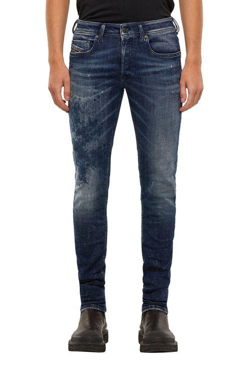 Jeans Sleenker-X Damaged Blue
