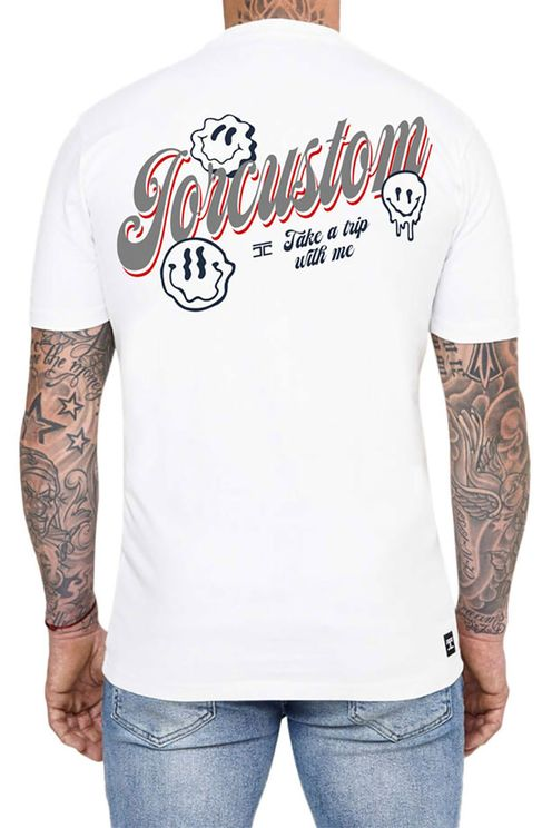 Smileys Slim Fit T-Shirt White