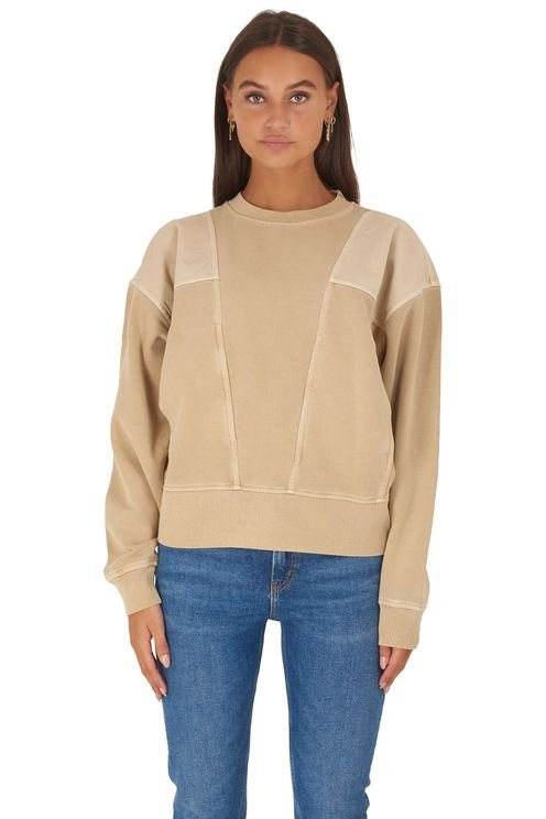 Oversized sweater patchwork