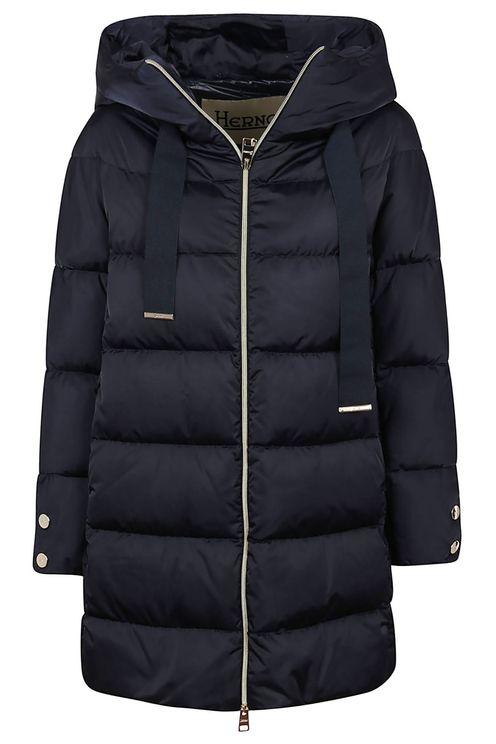Satin A-Shape Jacket With Hood