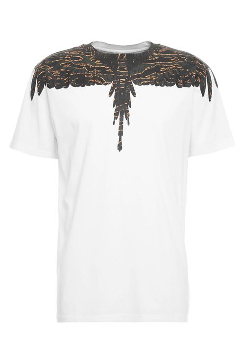 T-shirt Camou Wings Regular White