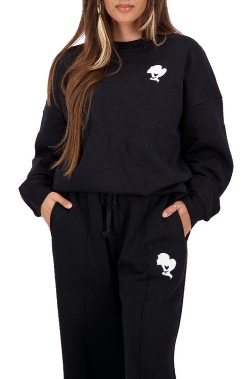 Sweater Headlogo True Black