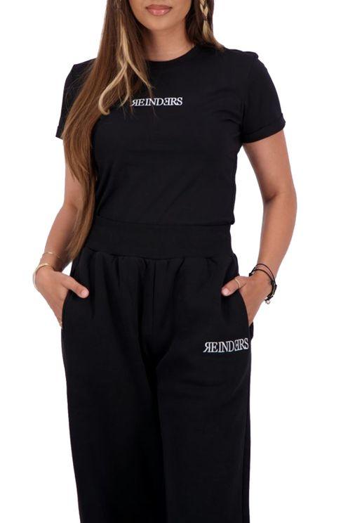 T-Shirt Slim Fit Wording True Black