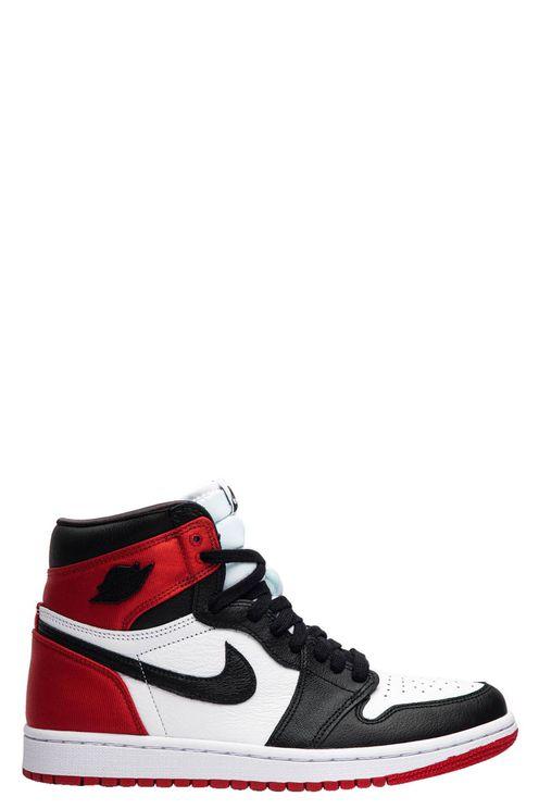 Air Jordan 1 High Satin Black Toe