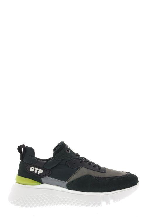 Sneakers Crunch Runner Mallad Groen