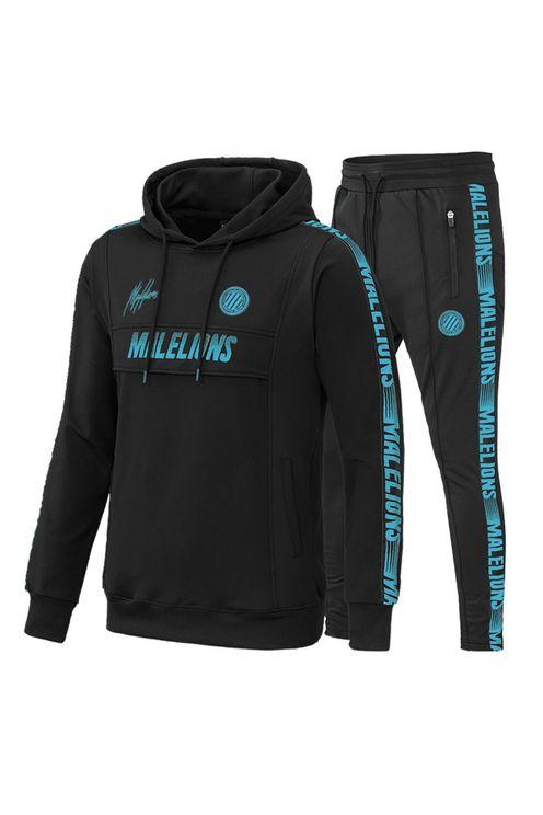 Sport Warming Up Trainingspak Black/Blue
