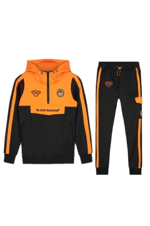 Analog Trainingspak Kids Black/Orange